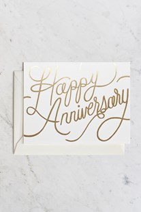 Rifle Paper Co - Single Card - Happy Anniversary