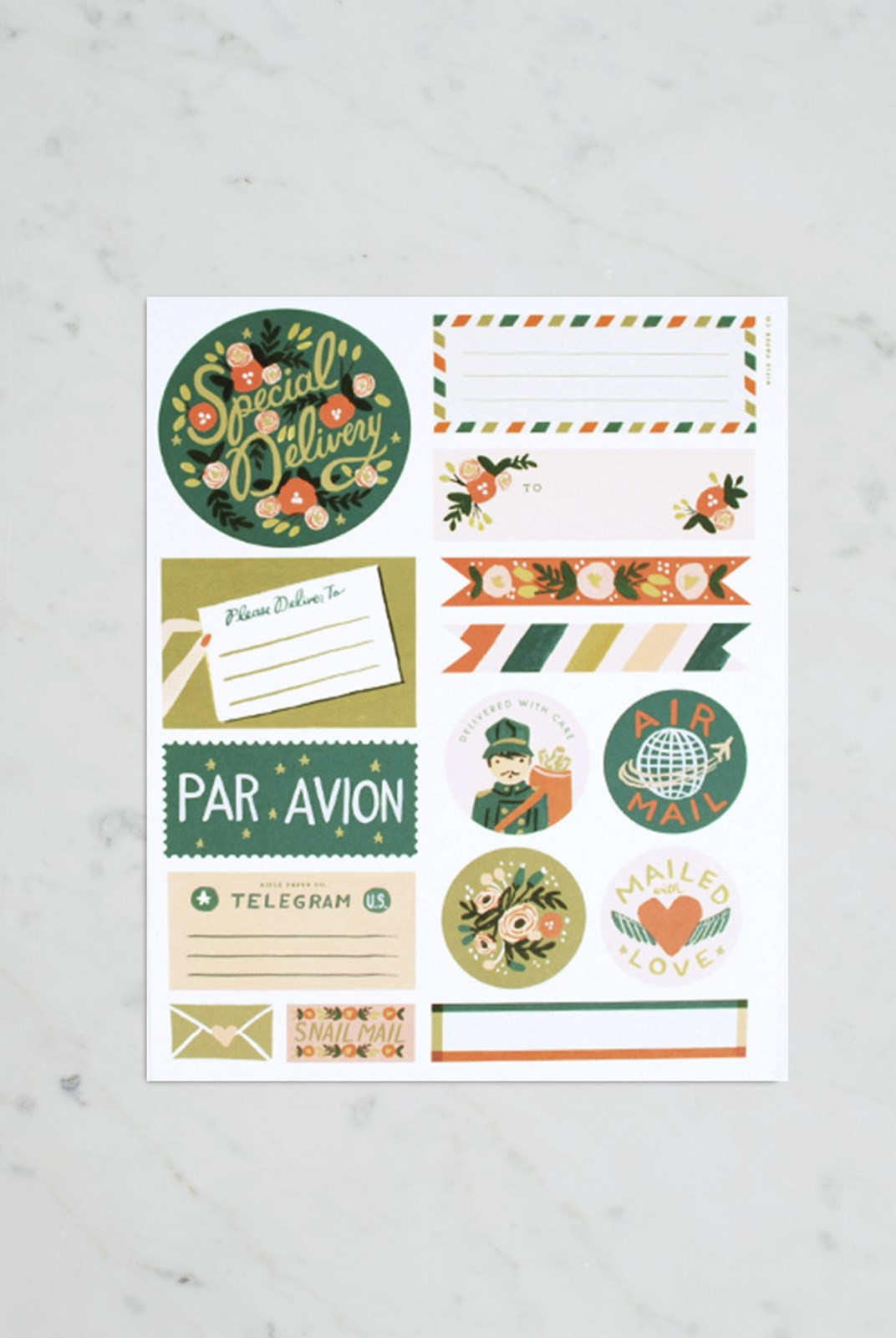 Rifle Paper Co - Stickers and Labels - Par Avion