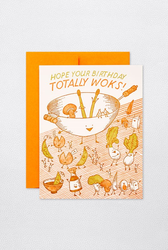 Hello Lucky - Single Card - Wokkin' Birthday