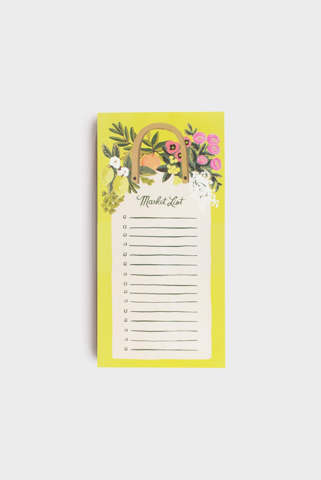 Rifle Paper Co - Shopping Pad - Farmer's Market