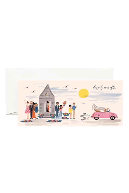 Rifle Paper Co - Single Long Card - Wedding Send-Off