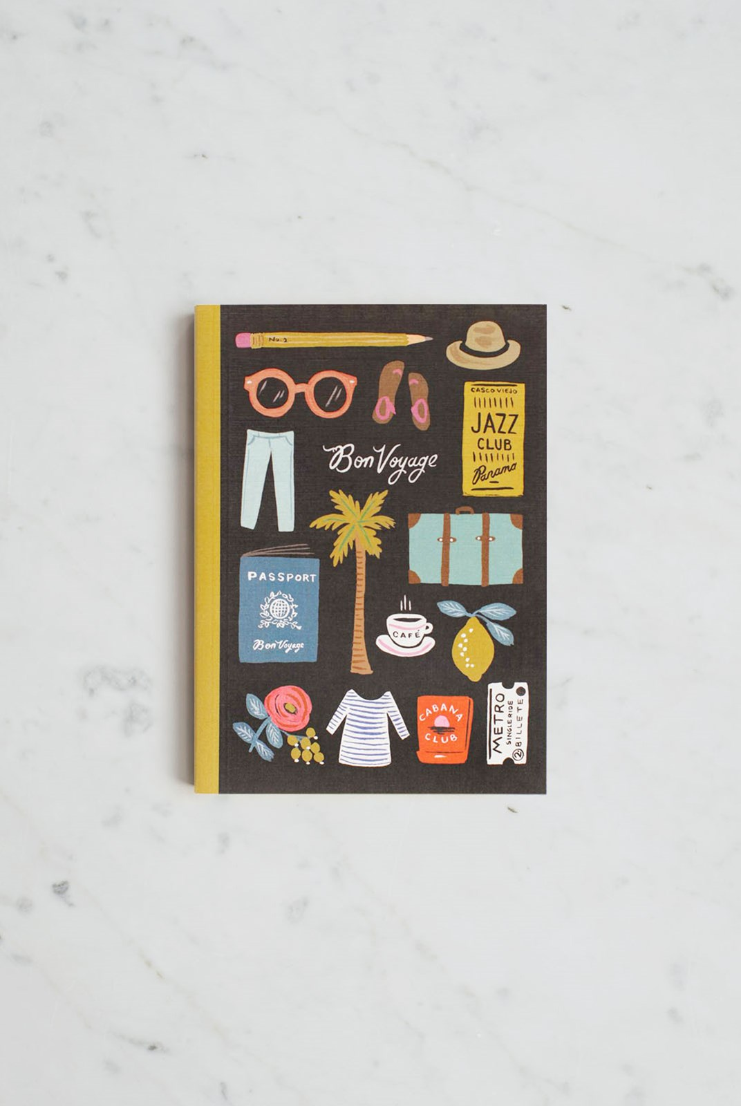 Rifle Paper Co - Journal - Plain + Ruled - Medium - Travel Essentials