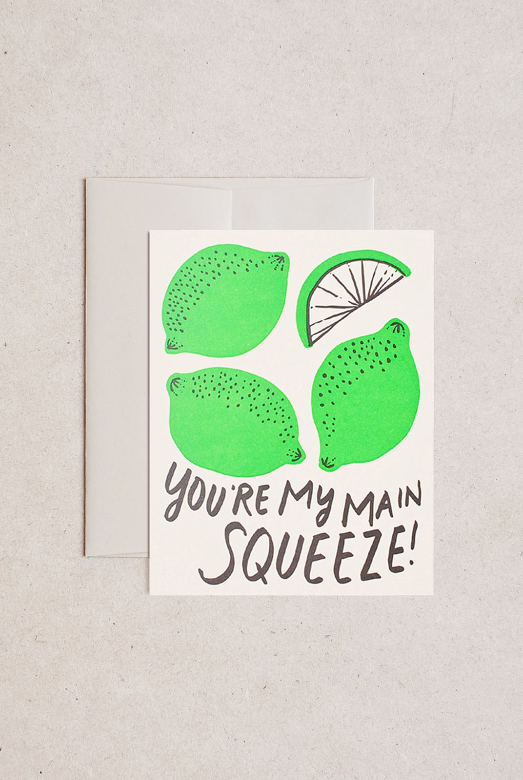 Hello Lucky - Single Card - You're My Main Squeeze