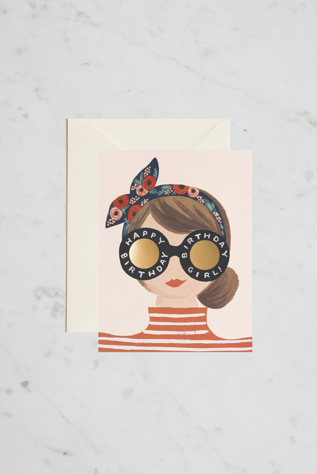 Rifle Paper Co - Single Card - Birthday Girl