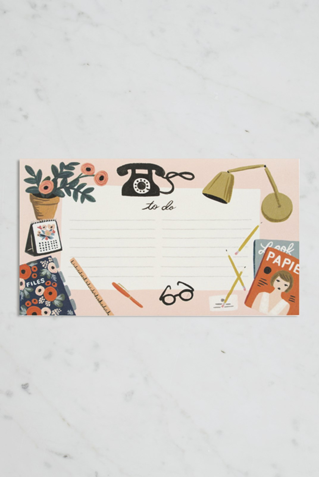 Rifle Paper Co - Notepad - Desktop
