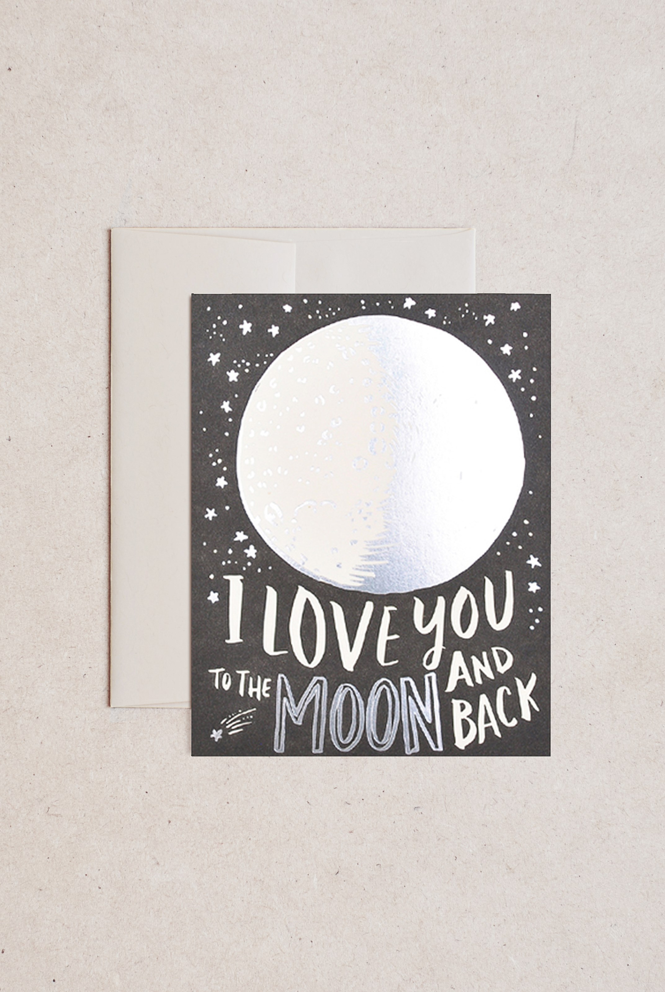 Hello Lucky - Single Card - To The Moon And Back