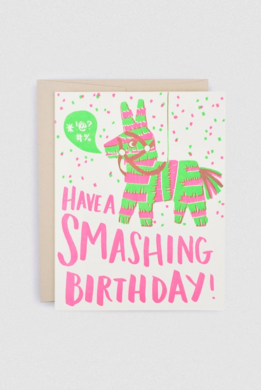 Hello Lucky - Single Card - Have A Smashing Birthday