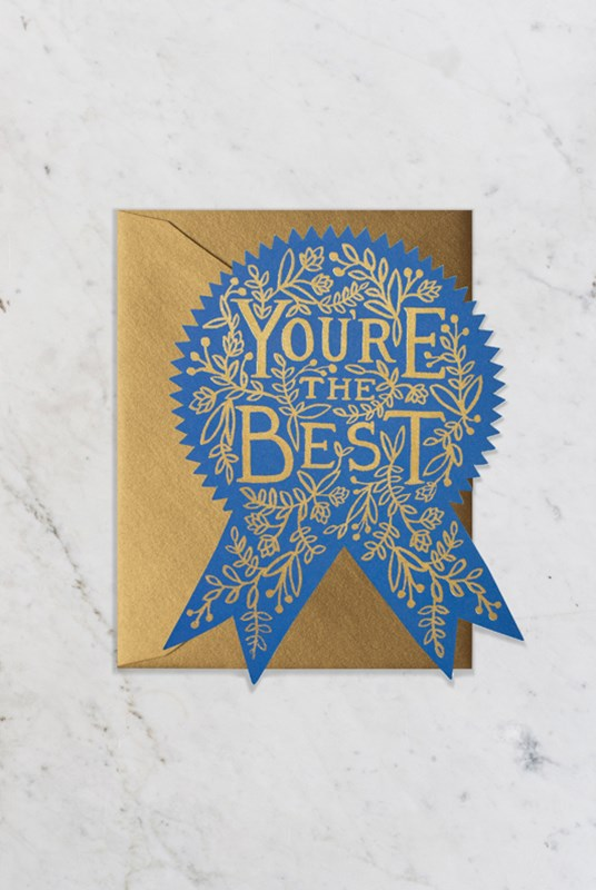 Rifle Paper Co - Single Card - You're the Best