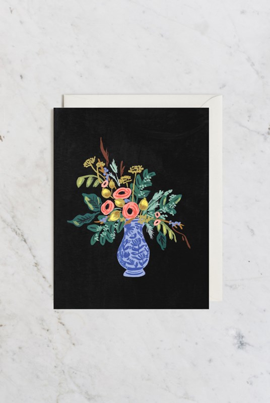 Rifle Paper Co - Single Card - Vase Study No. 1
