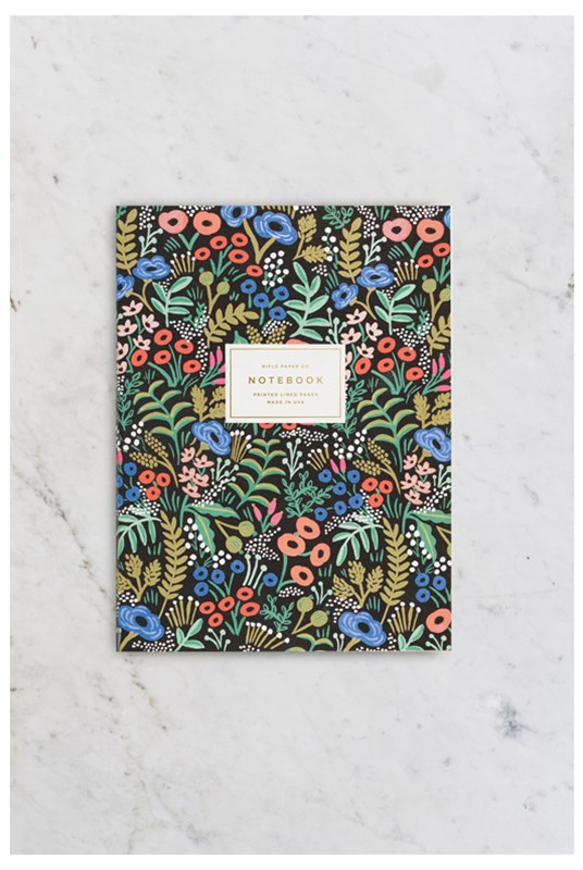 Rifle Paper Co - Memoir Notebook - Ruled - Large - Tapestry