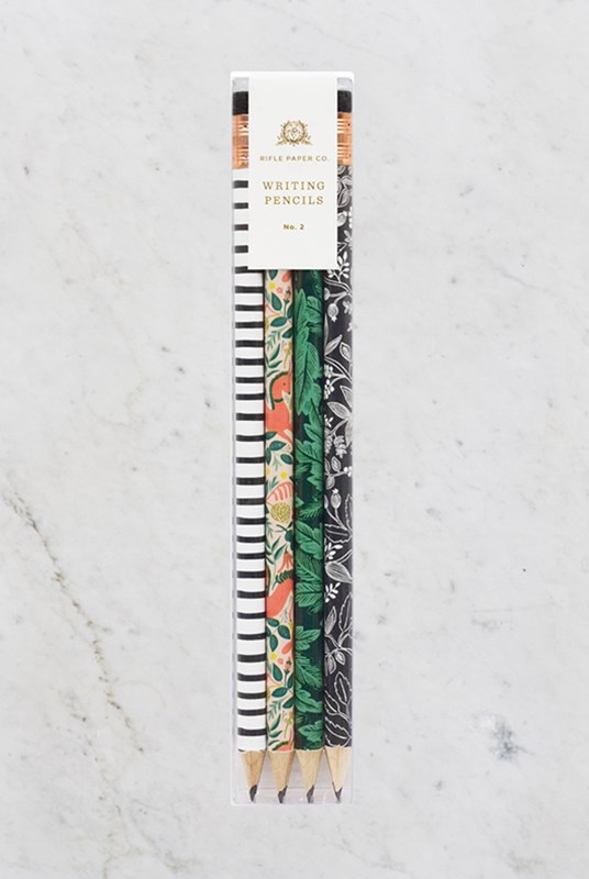 Rifle Paper Co - Graphite Pencils - Set of 12 - Folk