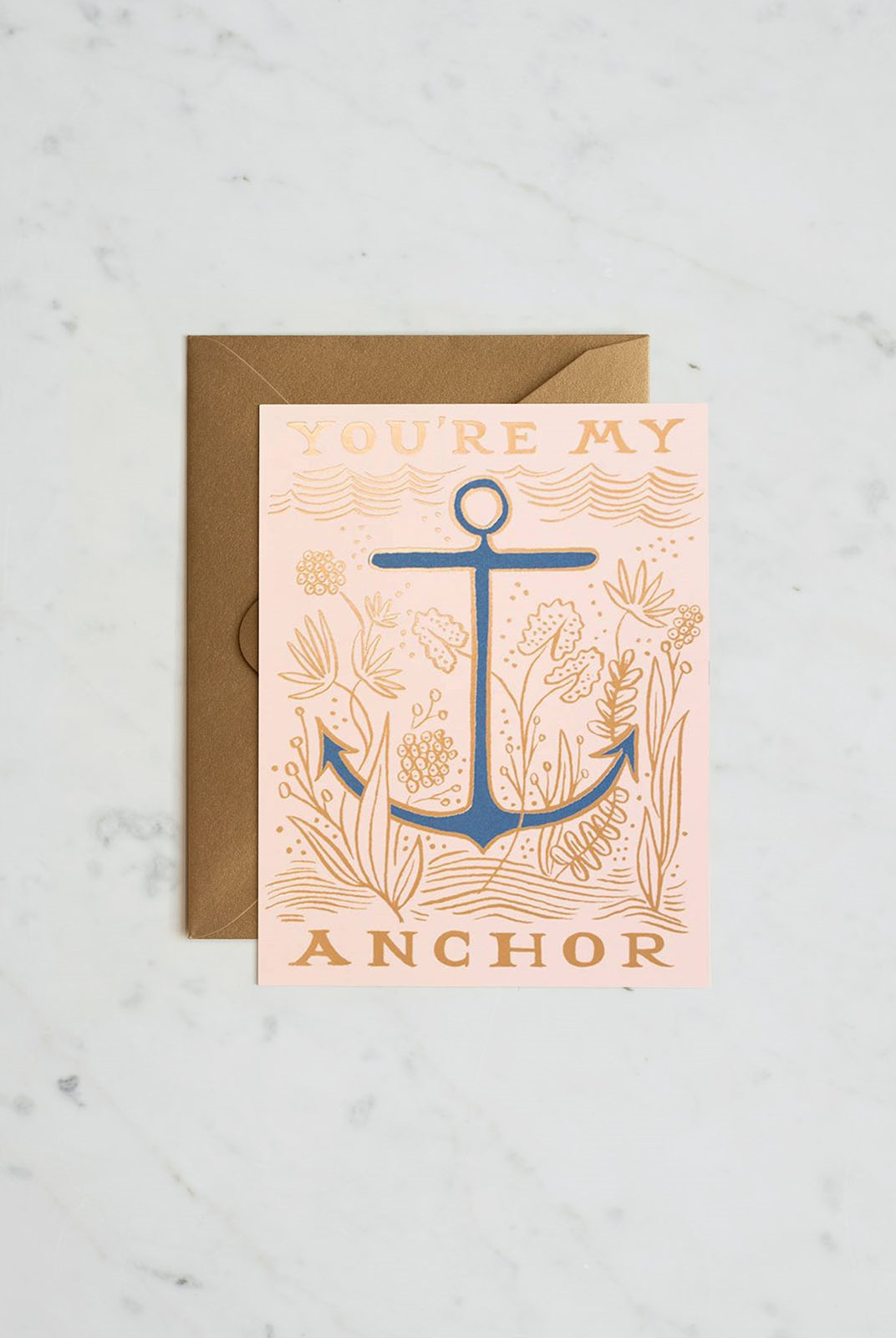 Rifle Paper Co - Single Card - My Anchor