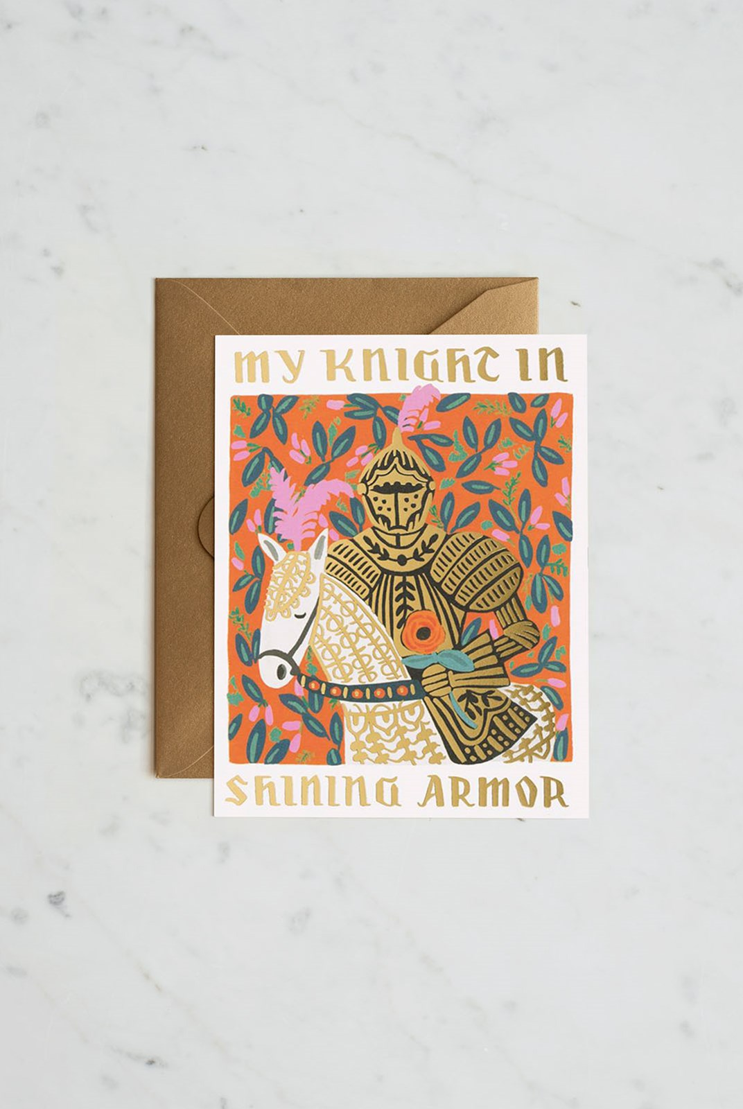 Rifle Paper Co - Single Card - Knight in Shining Armour