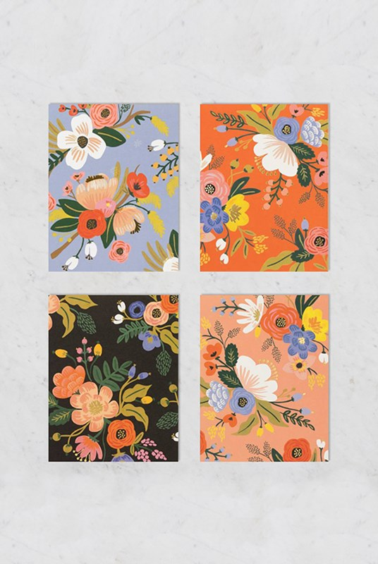 Rifle Paper Co - Boxed Card Set - Lively Floral Assorted