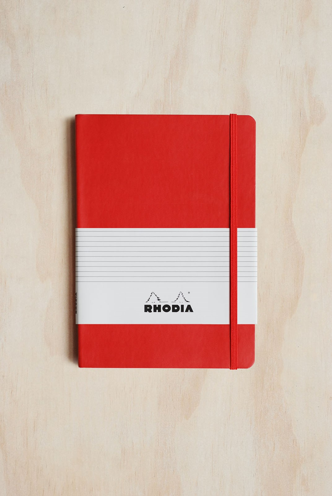 Rhodia - Professional Notebook - Ruled - A5 - Red