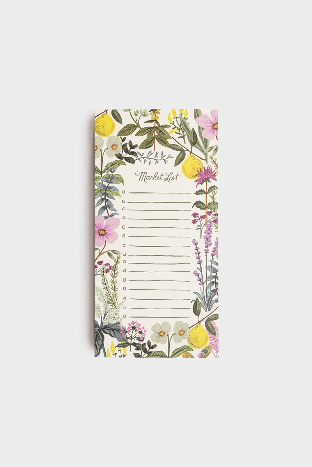 Rifle Paper Co - Shopping Pad - Herb Market