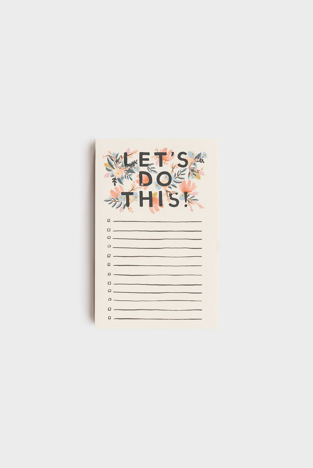 Rifle Paper Co - Notepad - Let's Do This