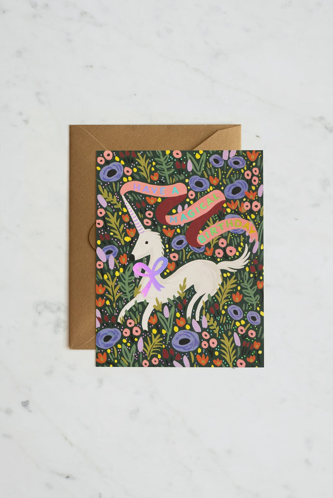 Rifle Paper Co - Single Card - Magical Birthday