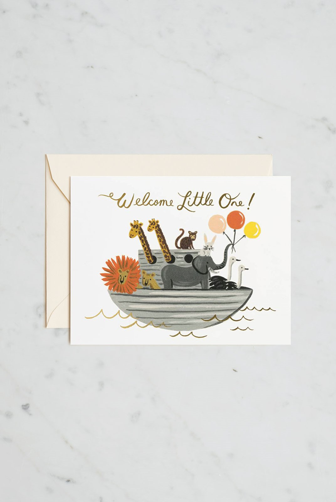 Rifle Paper Co - Single Card - Noah's Ark