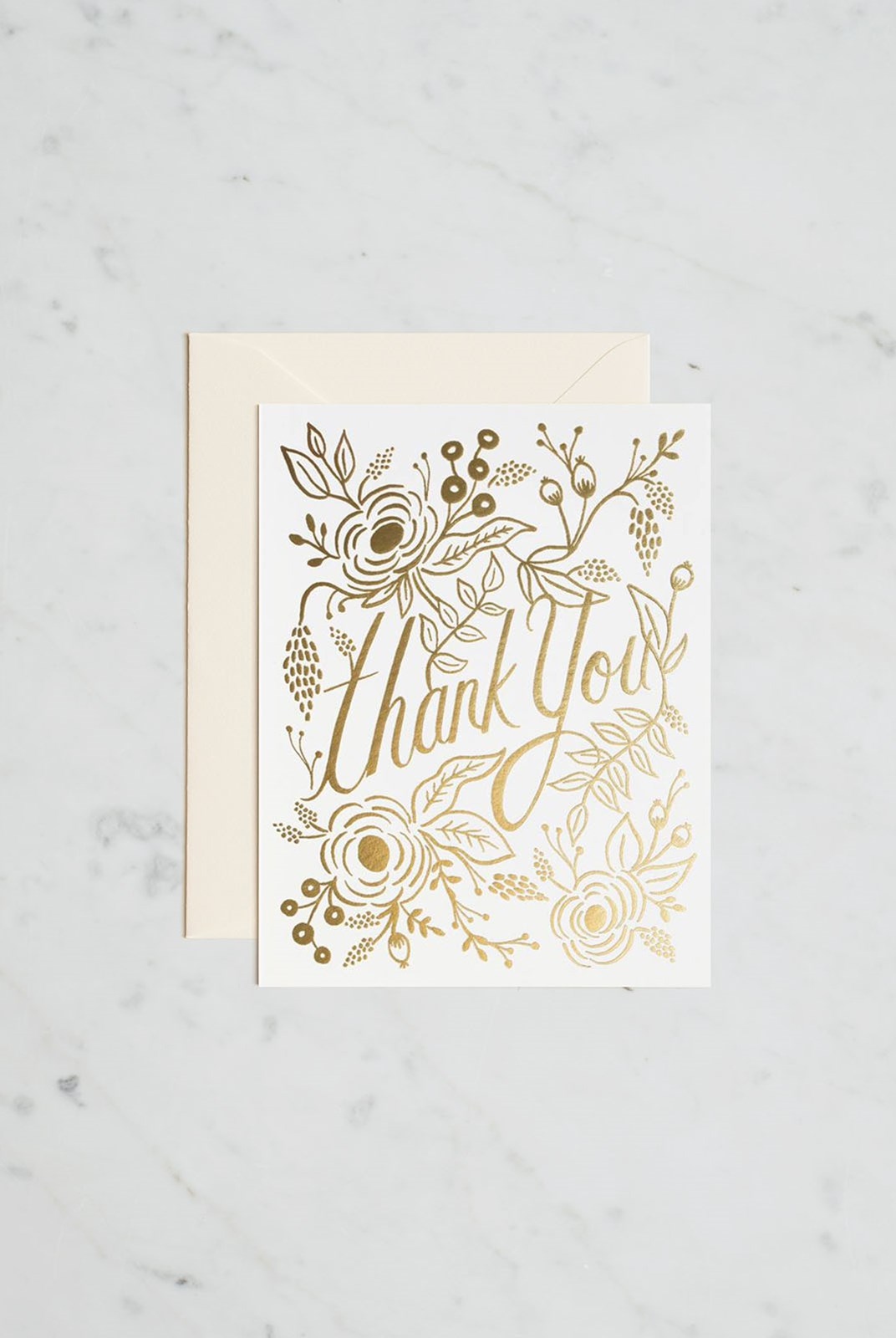 Rifle Paper Co - Single Card - Marion Thank You