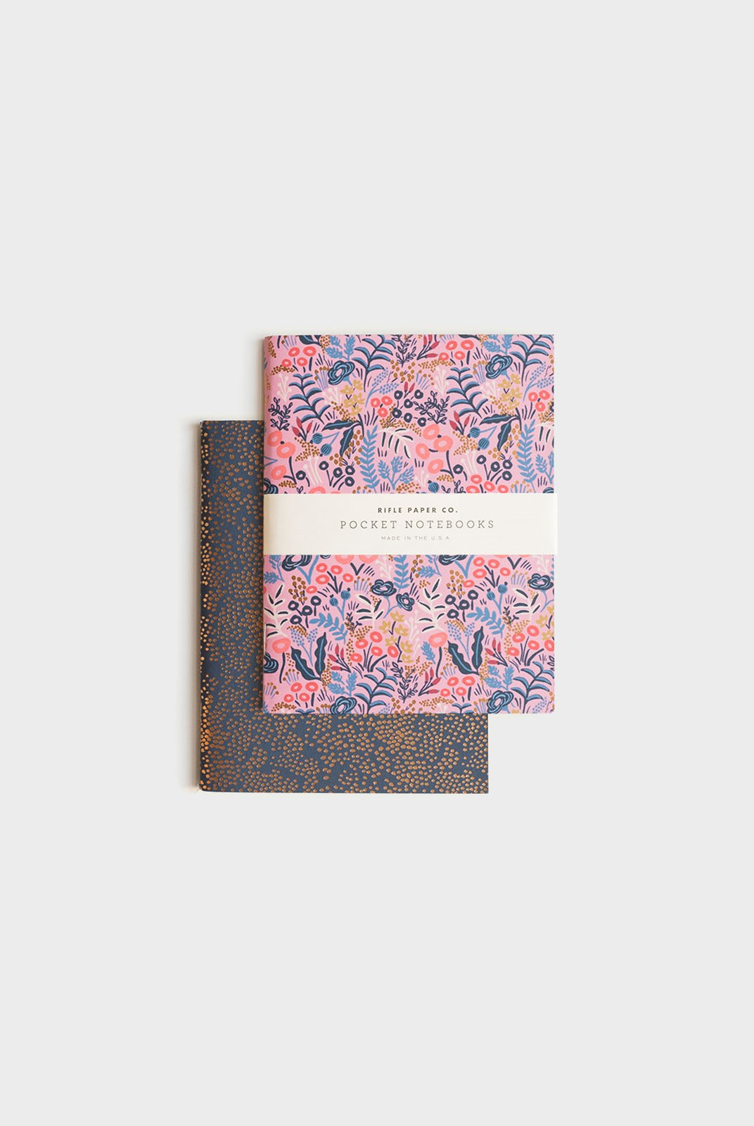 Rifle Paper Co - Pack of 2 Notebooks - Plain - Pocket - Tapestry