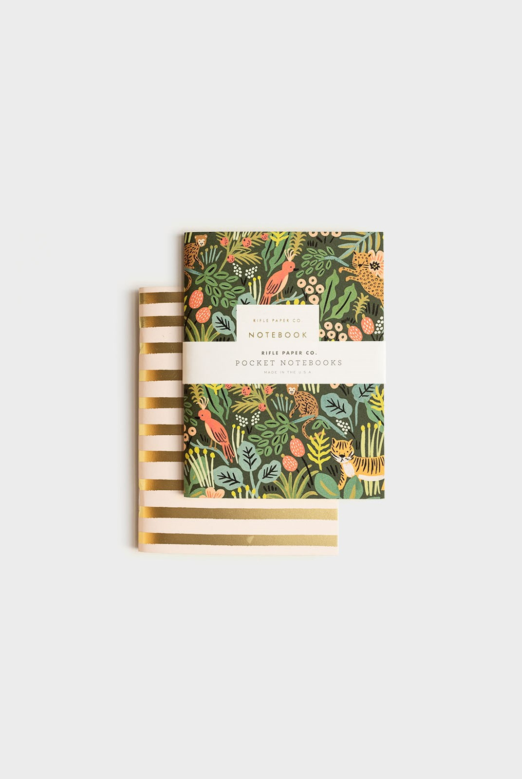 Rifle Paper Co - Pack of 2 Notebooks - Plain - Pocket - Jungle