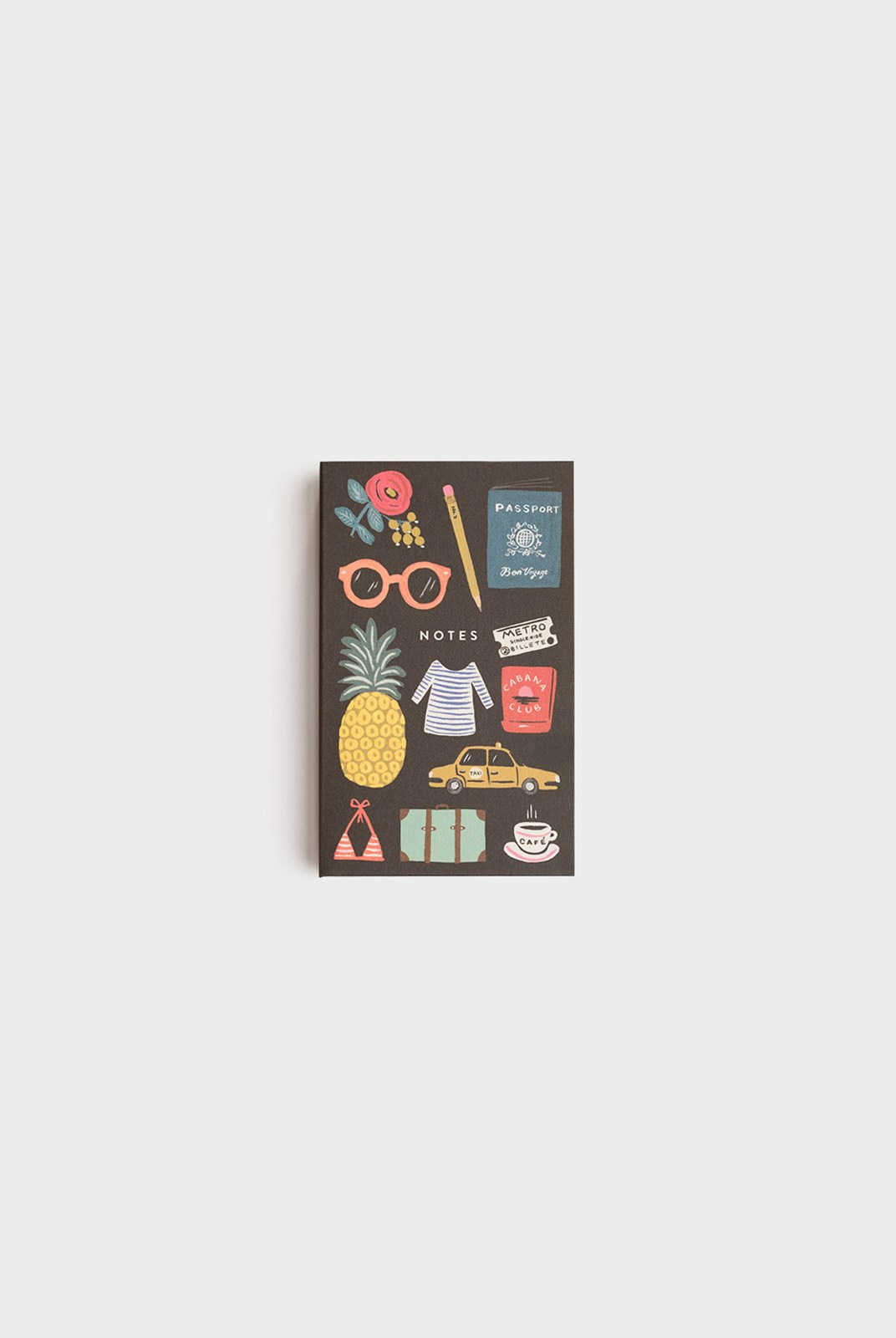 Rifle Paper Co - Pocket Notepad - Plain - Bon Voyage