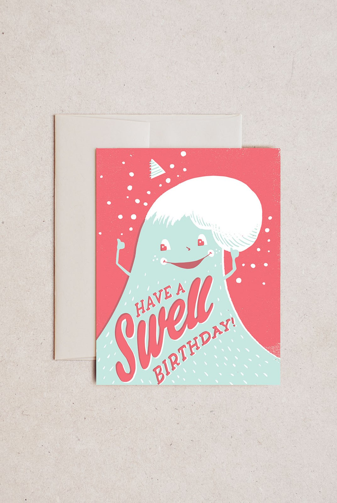 Hello Lucky - Single Card - Swell Birthday