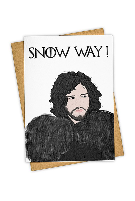 TAY HAM - Single Card - Snow Way
