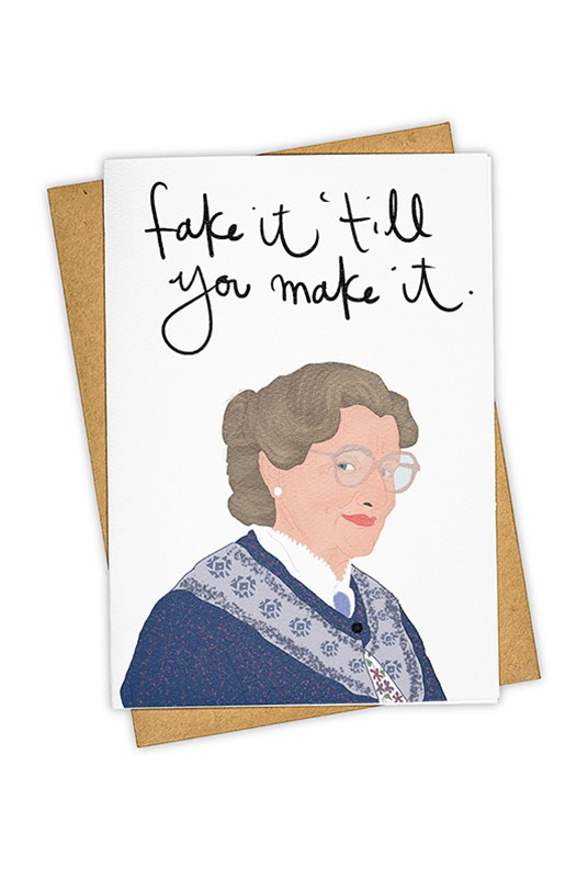 TAY HAM - Single Card - Fake It Till You Make It