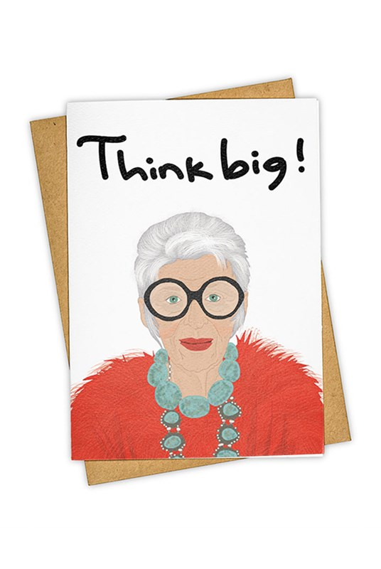 TAY HAM - Single Card - Think Big
