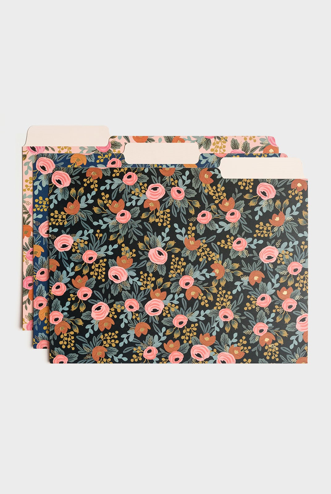 Rifle Paper Co - Set of 6 File Folders - A4 - Rosa