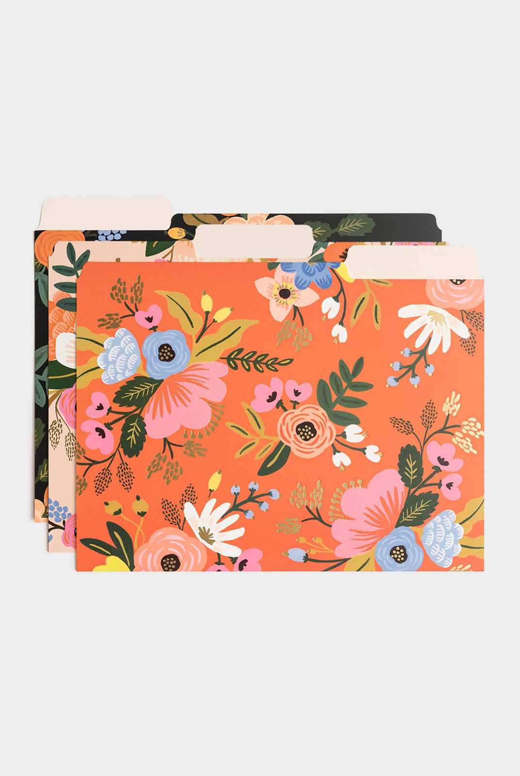 Rifle Paper Co - Set of 6 File Folders - A4 - Lively Floral