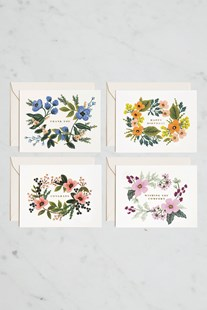 Rifle Paper Co - Boxed Card Set - Assorted Bouquet