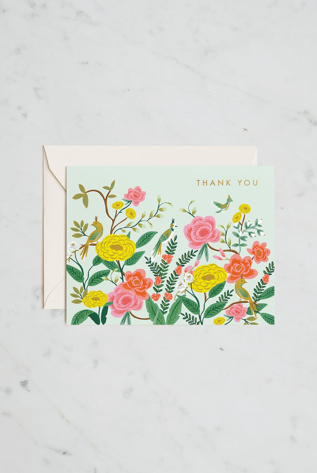 Rifle Paper Co - Single Card - Shanghai Garden Thank You