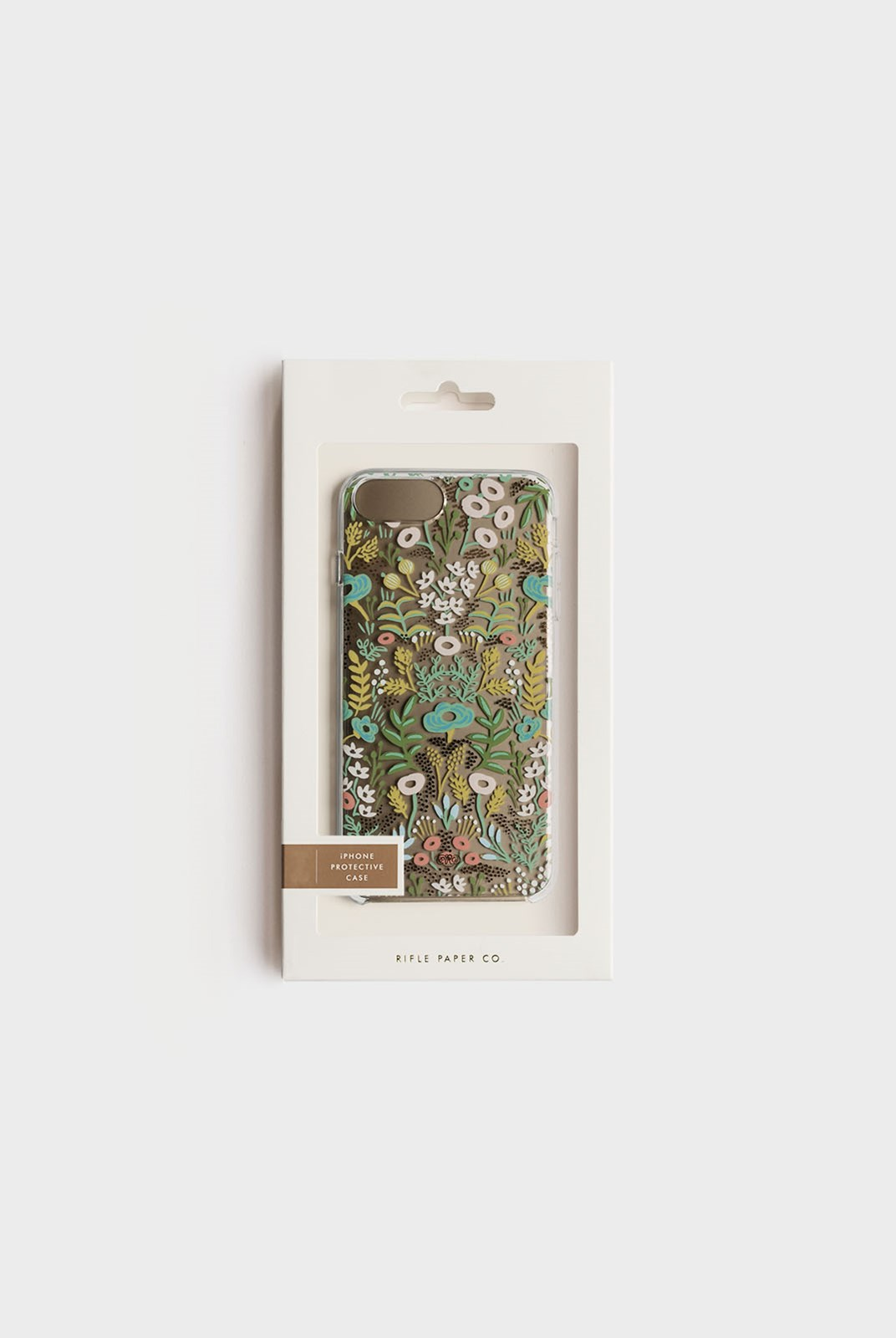 Rifle Paper Co - iPhone 6/7/8 Plus Hard Case - Clear Tapestry