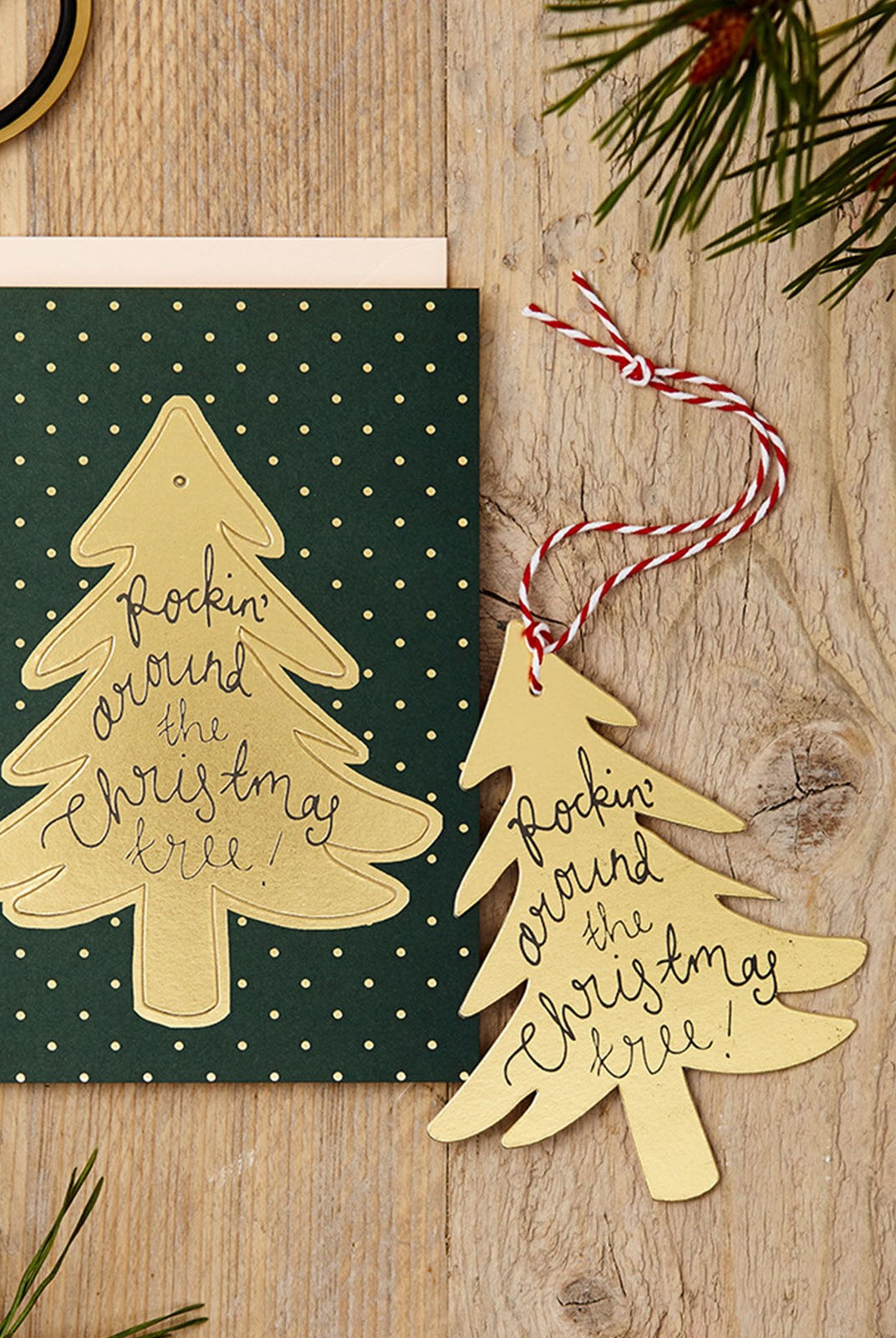 Katie Leamon - Single Pop-Out Card - Christmas Tree
