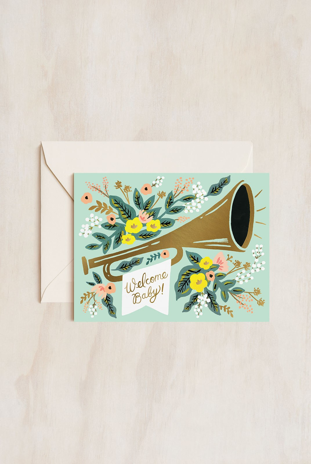 Rifle Paper Co - Single Card - Welcome Jubilee