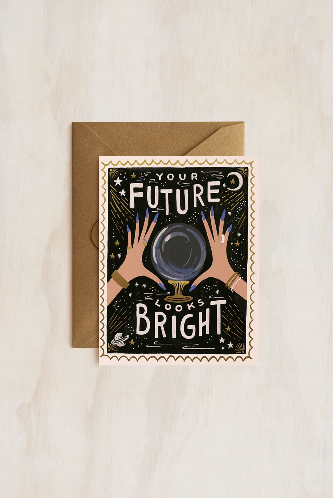 Rifle Paper Co - Single Card - Your Future Looks Bright