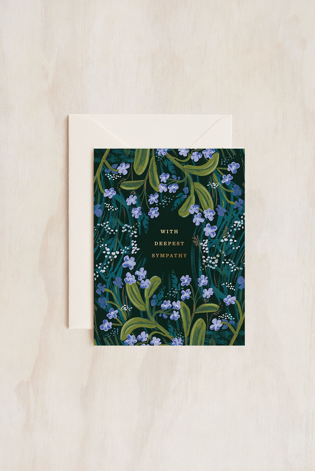 Rifle Paper Co - Single Card - Sympathy Bouquet