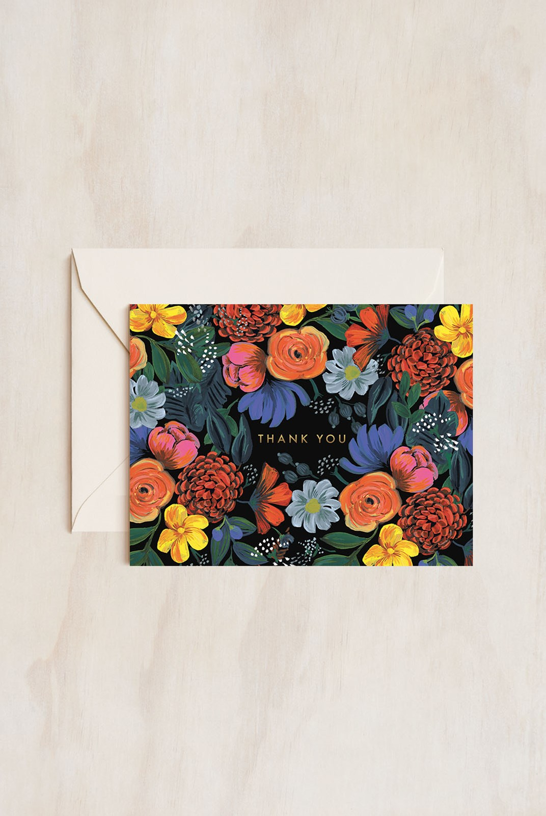 Rifle Paper Co - Single Card - Odette Thank You