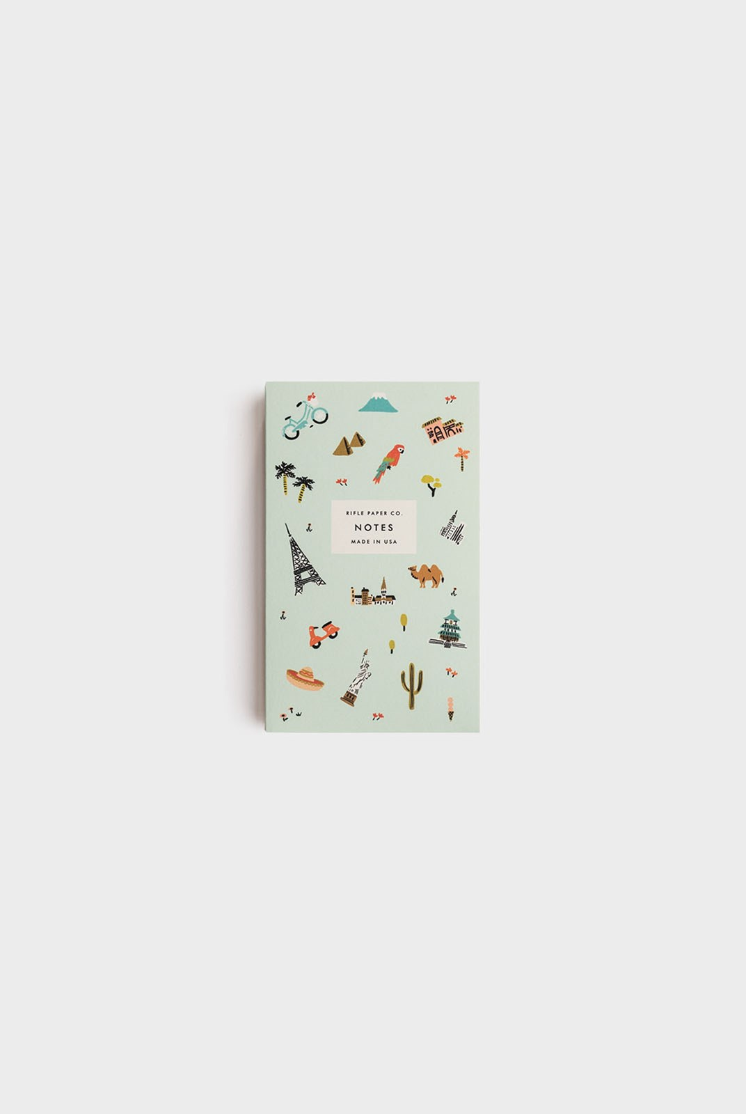Rifle Paper Co - Pocket Notepad - Plain - Wanderlust