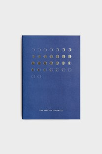 Milligram - Organisation Notebook - The Weekly Undated - Blue - Diaries Diary - Undated