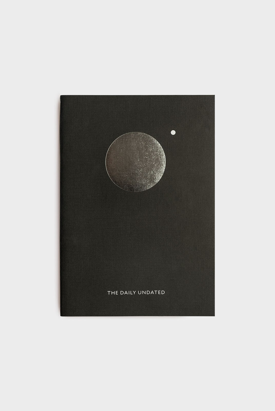 Milligram - Organisation Notebook - The Daily Undated - Black