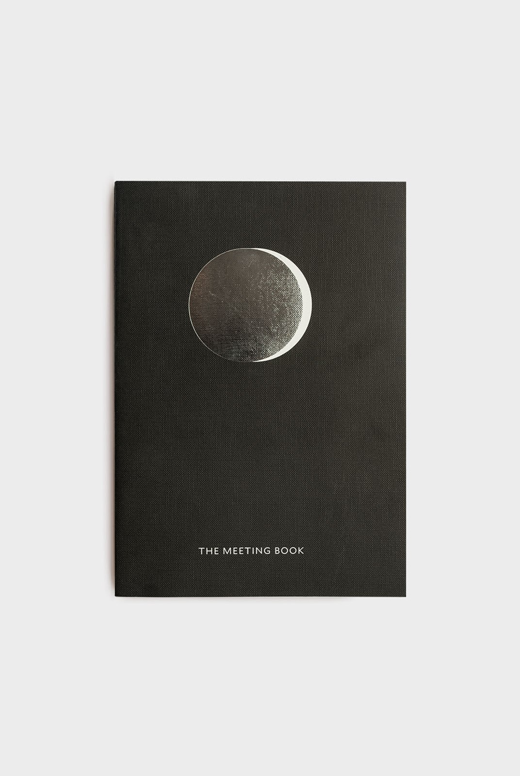 Milligram - Organisation Notebook - The Meeting Book - Black