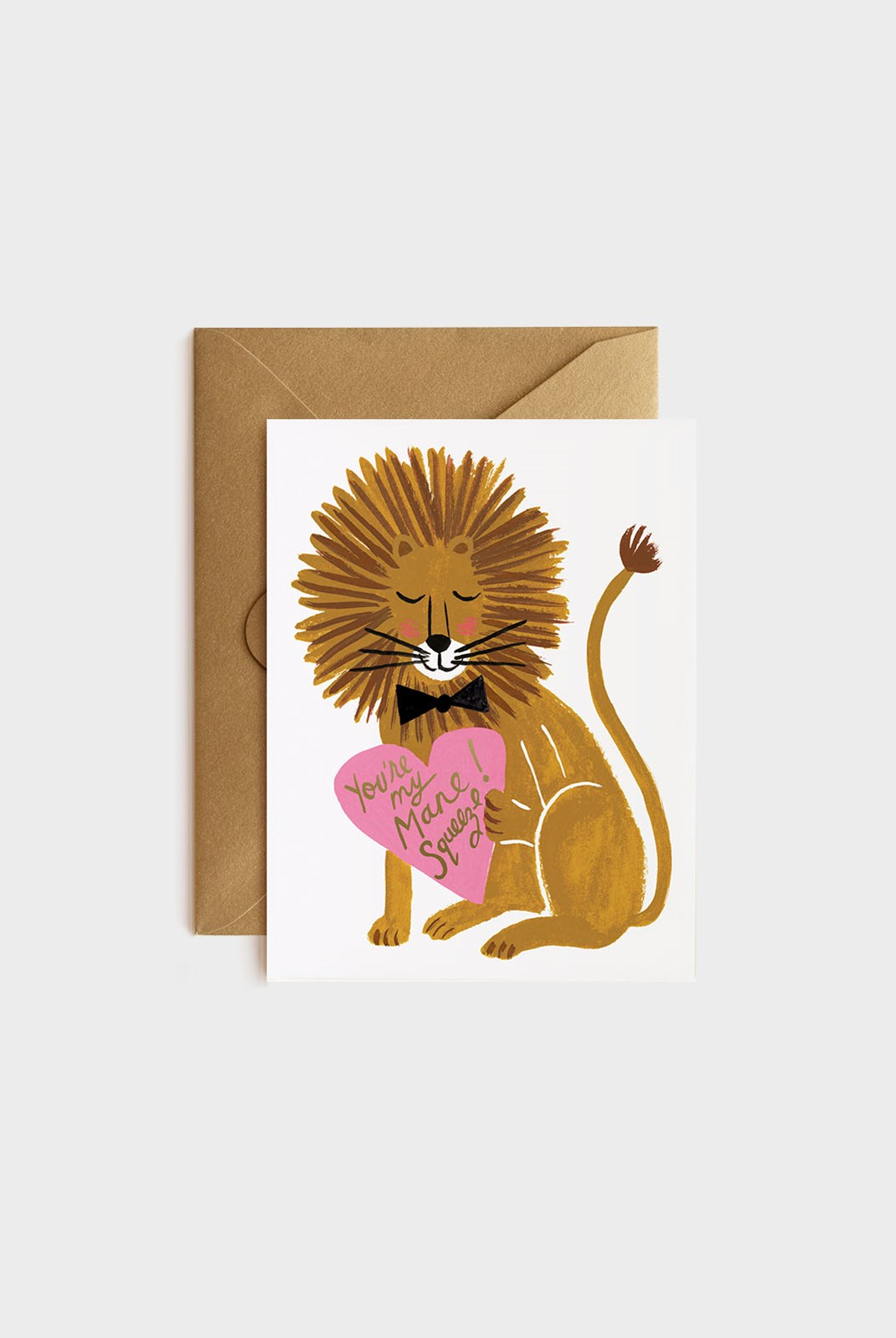 Rifle Paper Co - Single Card - You're My Mane Squeeze