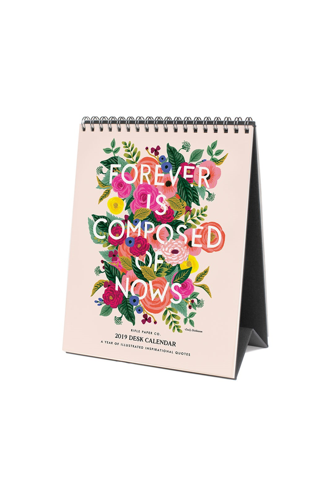Rifle Paper Co - 2019 Desk Calendar - Inspirational Quote