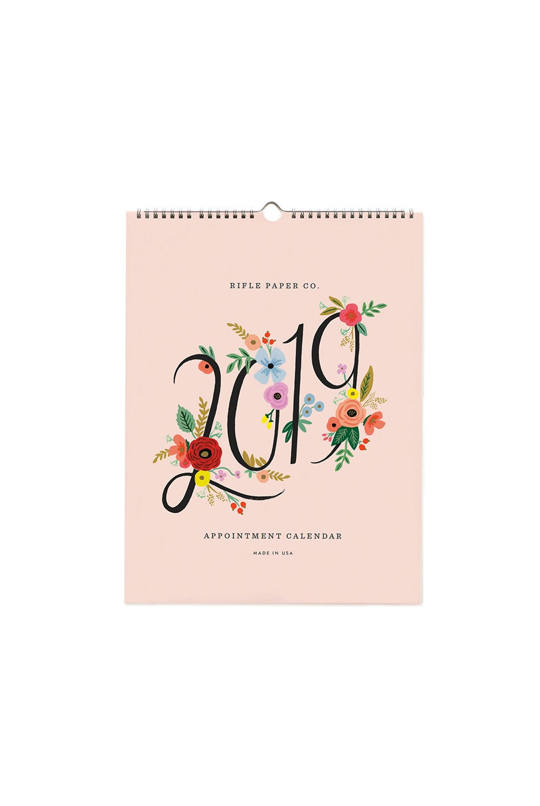 Rifle Paper Co - 2019 Appointment Calendar - Bouquet