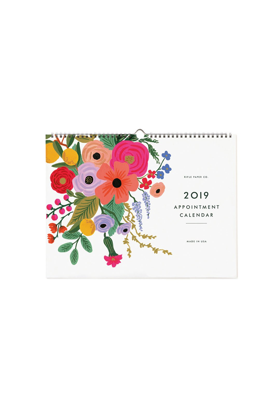 Rifle Paper Co - 2019 Appointment Calendar - Garden Party