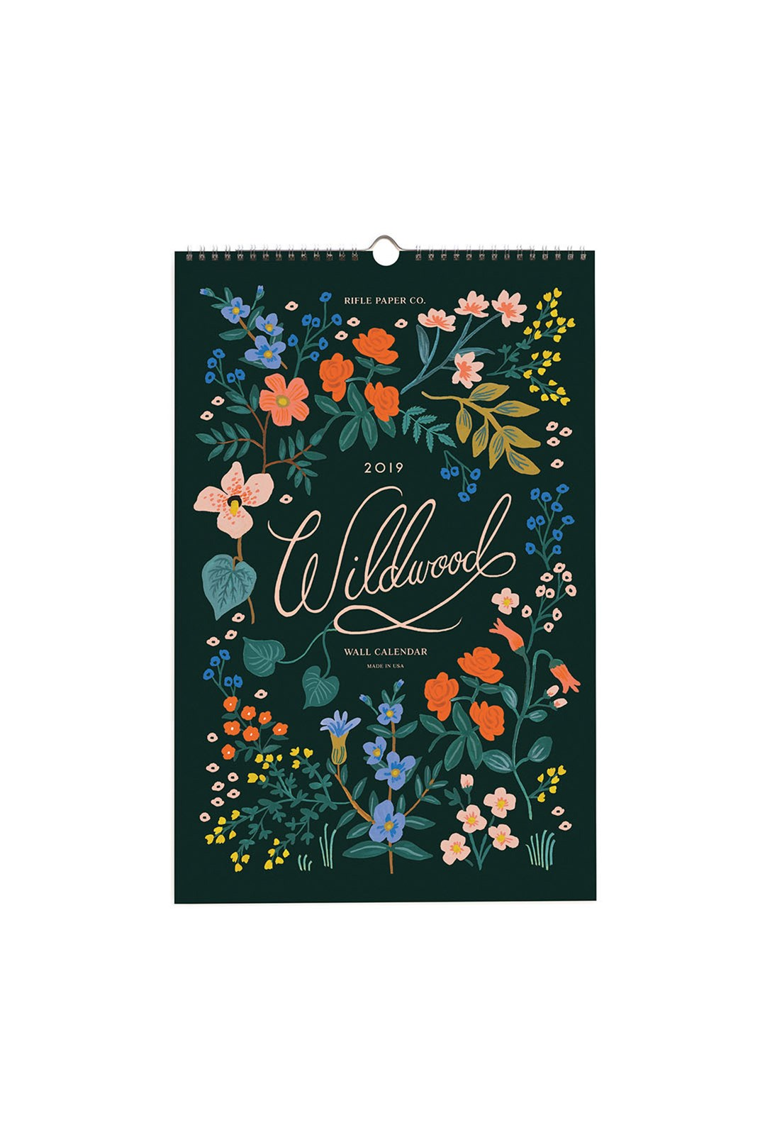 Rifle Paper Co - 2019 Wall Calendar - Wildwood